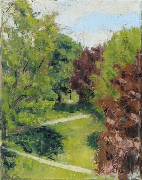 Spring Landscape Oil Painting
