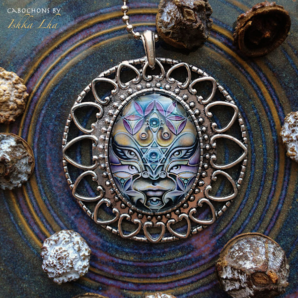 Radiant Avatar - Visionary Art Jewelry by Ishka Lha