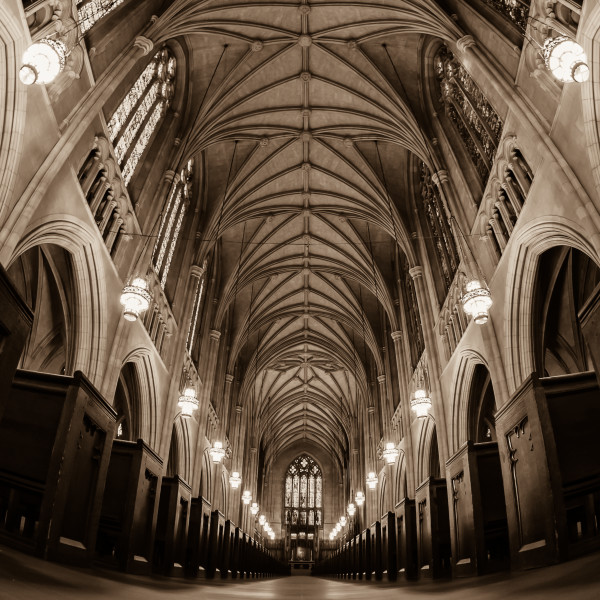 Duke Chapel: A Mouse-Eye View