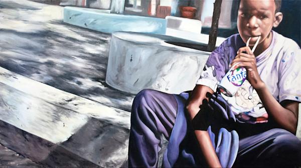 Shop Raquel Fornasaro Tuca Contemporary Original Fine Art Oil Portrait on Canvas