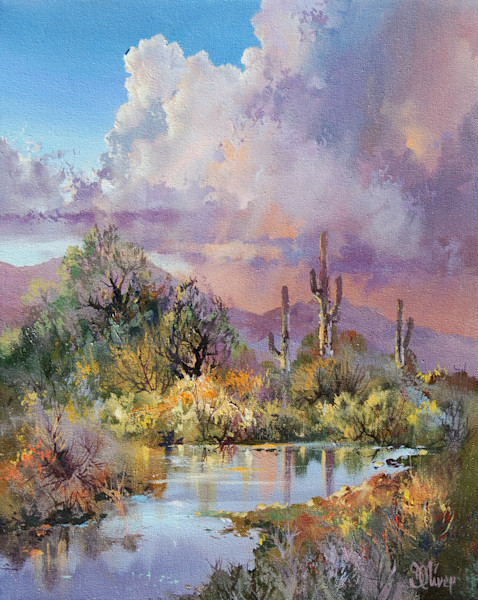 Reflections by Doug Oliver | Southwest Art | Tucson Gallery