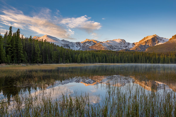 Photo of Bierstadt Lake at Sunrise, Rocky Mountain National Park
