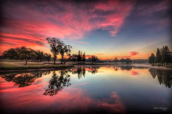 Pink Morning Reflections Photographic Art