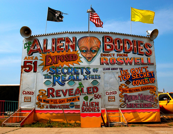 Coney Island Alien Bodies