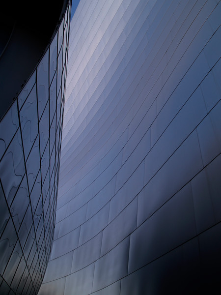 Disney Music Hall on Bunker Hill, wall