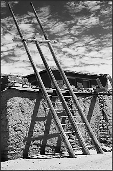 Second story entry, Acoma Sky City, New Mexico