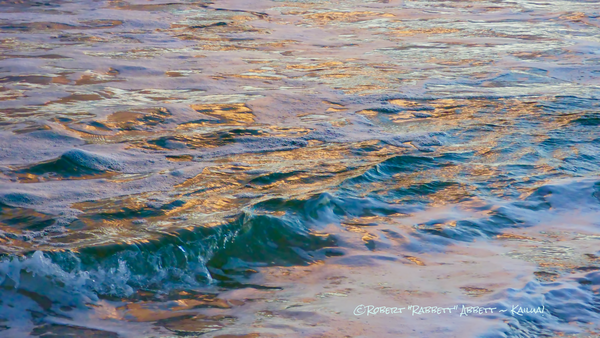 Water, water on Kailua Bay, colors on water along kailua bay, colorful water reflection, reflections