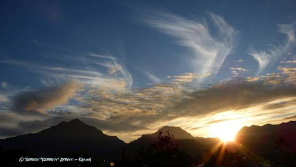 Wispy Sundown - Kailua