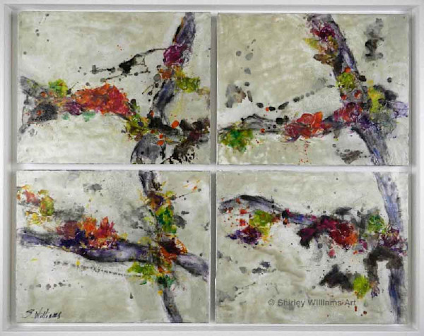 Gifts of Nature  Encaustic Painting