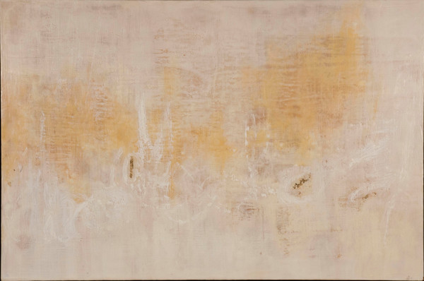 Encaustic, original-celine-ennis, contemporary, atmospheric-abstract-painting,