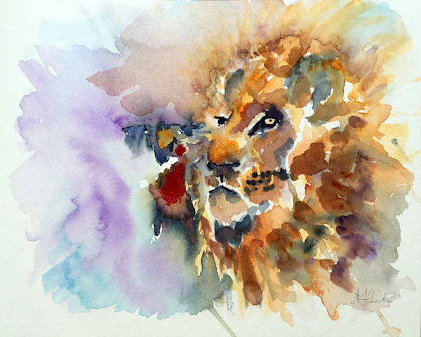 """The Lion And The Lamb"" Are One by Jill Lawton 