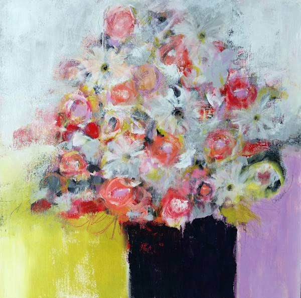 Betty Krause Art | Fine Art Paintings | Abstract Floral Art