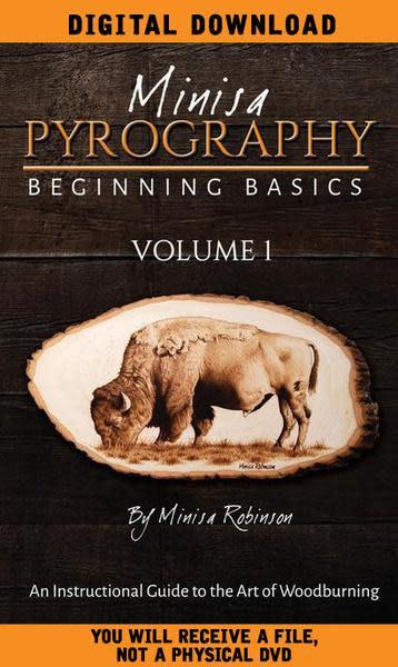 DIGITAL DOWNLOAD: Beginning Basics of Woodburning Volume 1
