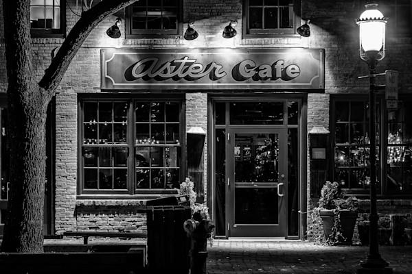 Aster Cafe - Minneapolis Art Prints | William Drew Photography