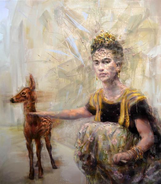 Frida et Faon par Mathieu Laca