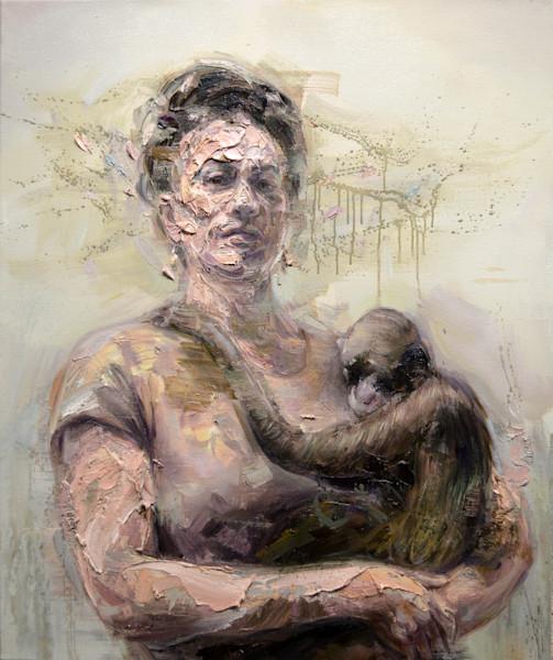 «Frida et Singe» par Mathieu Laca