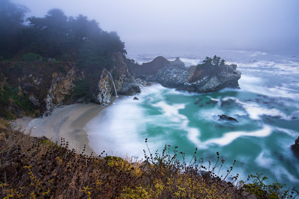 Density McWay Falls in Motion