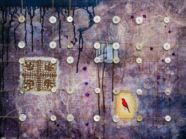 Australian Crimson Finch, a fine art print by Heather Robinson