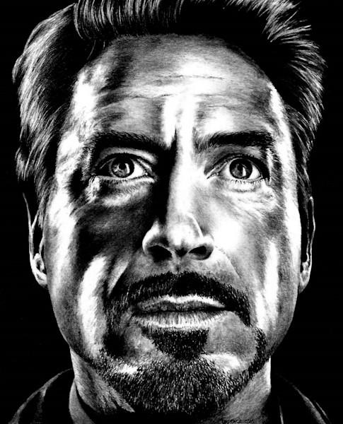 Tony Stark - Robert Downey Jr