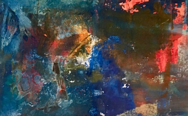 Imagined-landscapes, abstract-art, cold-wax-painting, oil-paper, wax-painting, celine-ennis, abstract-celine-ennis