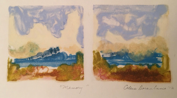 Monotypes, Encaustic, celine-ennis, art,