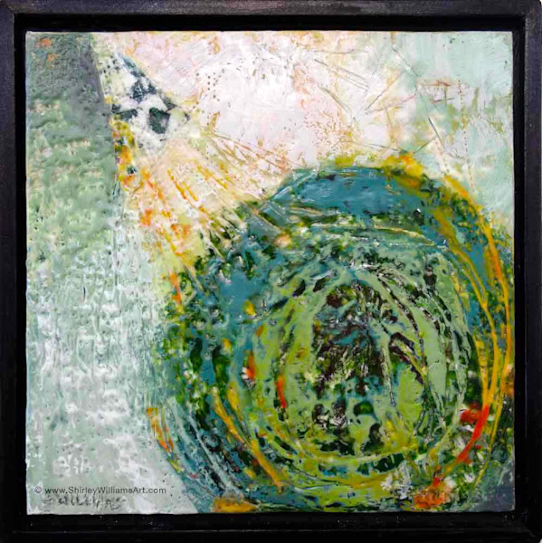 Original Encaustic Painting - Circle of Life
