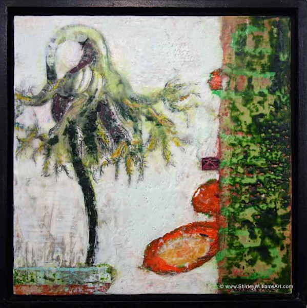 Original Encaustic Painting - Life Force