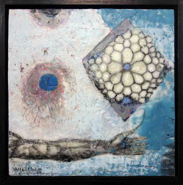 Original Encaustic - Ask to Receive