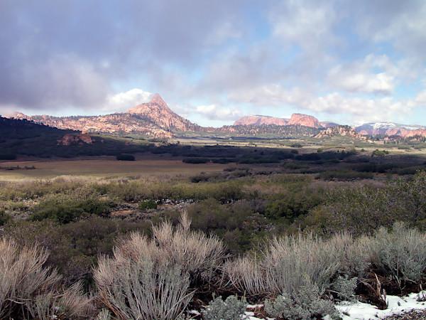 Upper Zion, looking north