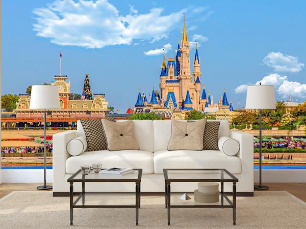 Magic Kingdom - Disney Wall Murals | William Drew