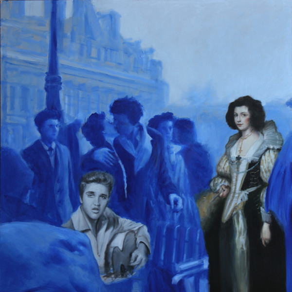 Blue in Paris 48*48