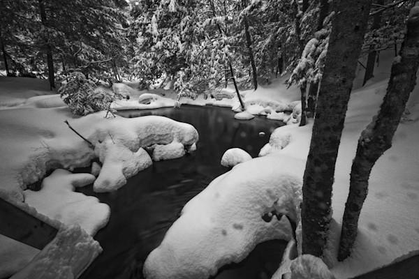Potts Fall Bracebridge Winters Pond