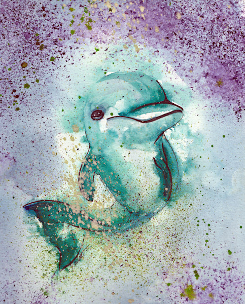 Florida theme fish watercolors for sale | boudreau-art