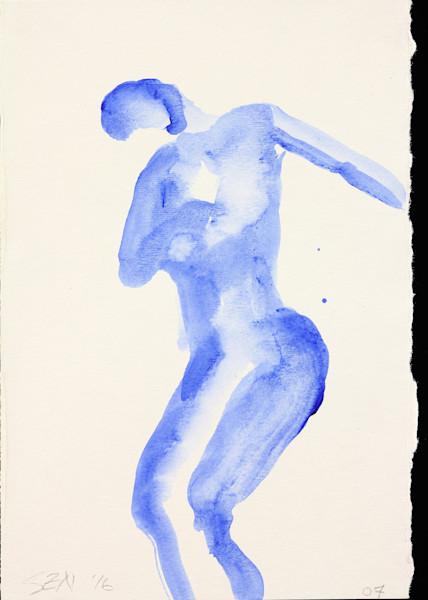 Final Bow In Blue 5x7 Inch Card   Zippity Art