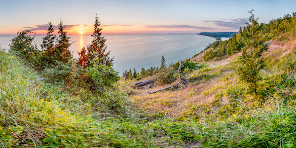 Empire Bluffs Sunset