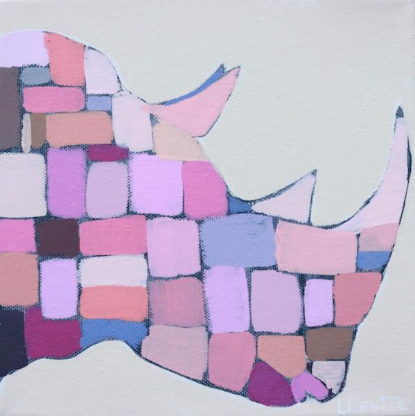 MAXI -   Berry Pink Mosaic Rhino 8 x 8