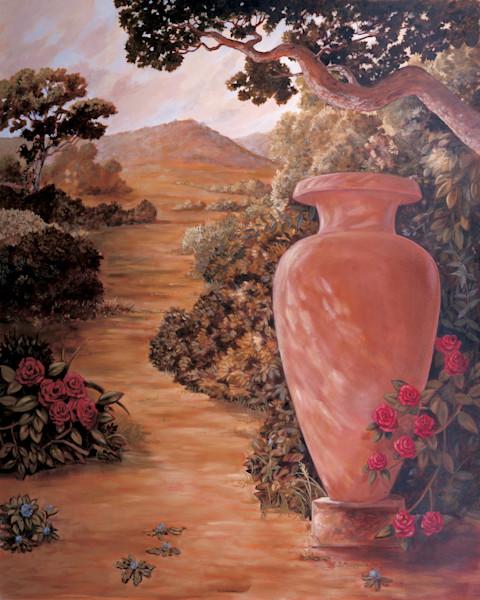 Italian Urn 2 | Murals in Classical Style | Gordon Meggison IV