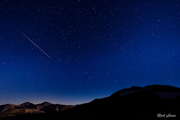 Perseids Meteor at Jones Pass