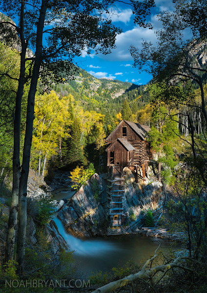Crystal Mill 11x14 Fine Art Print