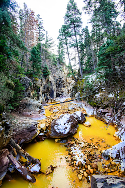 Markus Van Meter Alpine Photography-Fall Water on the Uncompahgre River