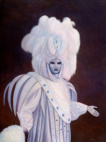 Lady in White - Original