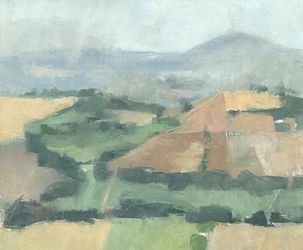 Otricoli Rainstorm, original oil painting | Antrese Wood