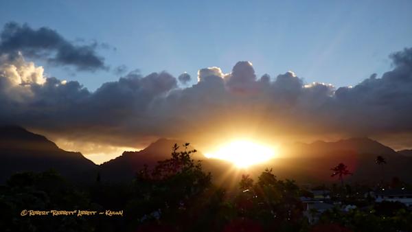 Evening Sun Blast