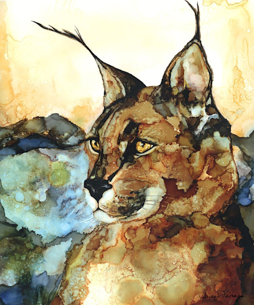 Wild Life art prints by Heidi Stavinga in alcohol inks