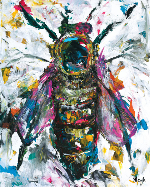 Queen Bee Painting