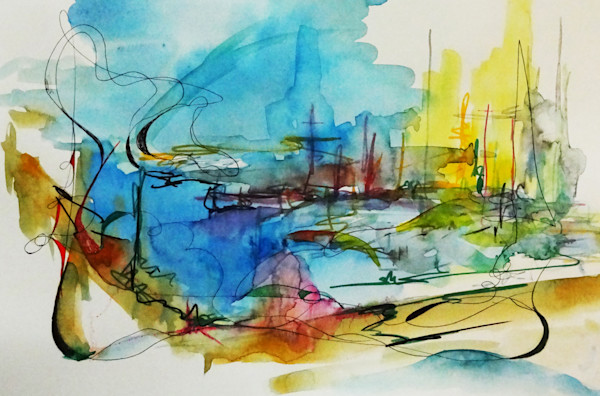 Landscape of the Harbor of your Dreams