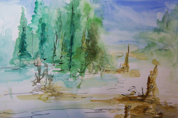 Landscape  of The Pines of Peace
