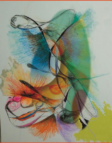 abstract tarot angel image