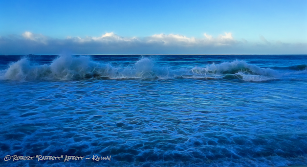 A Big splash kinda Wave! And it was Blue Hour. Have a look and let me know what you think! Robert Abbett Art!