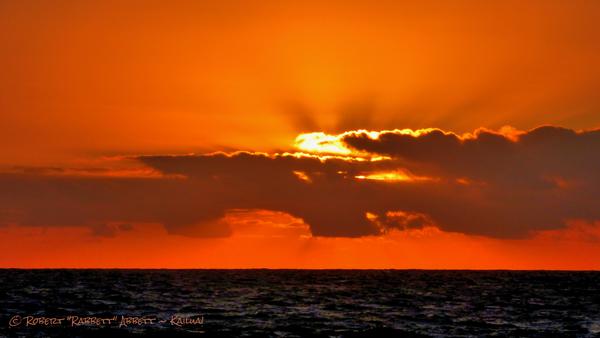 Orange Sky and Rays!